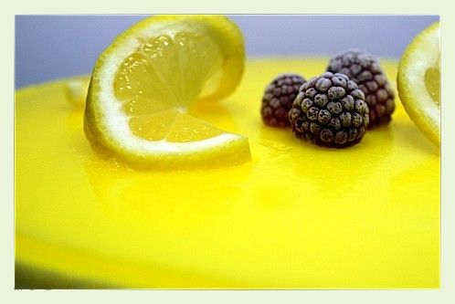 Nappage miroir au citron for Miroir de sucre